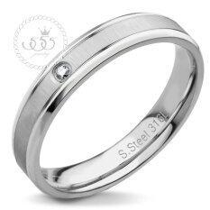 ขาย ซื้อ 555Jewelry แหวน รุ่น Mnc R572 A Steel แหวนผู้หญิง แหวนคู่ แหวนคู่รัก เครื่องประดับ แหวนผู้ชาย แหวนแฟชั่น ไทย