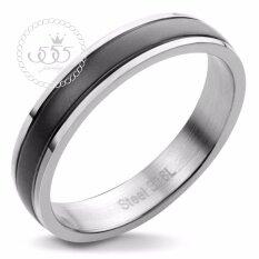 ขาย 555Jewelry แหวนเเฟชั่น รุ่น Mnc R597 D สี Black แหวนคู่รัก แหวนคู่ แหวนผู้ชายเท่ๆ แหวนแฟชั่นชาย แหวนผู้ชาย แหวนของผู้ชาย ผู้ค้าส่ง
