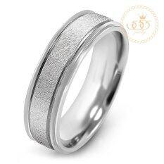 โปรโมชั่น 555Jewelry แหวน รุ่น Mnc R632 A Steel แหวนคู่รัก แหวนคู่ แหวนผู้ชายเท่ๆ แหวนแฟชั่นชาย แหวนผู้ชาย แหวนของผู้ชาย ถูก