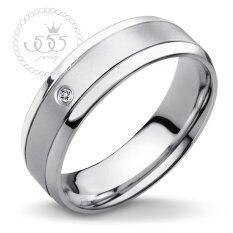 ราคา 555Jewelry แหวน รุ่น Mnc R634 A Steel แหวนคู่รัก แหวนคู่ แหวนผู้ชายเท่ๆ แหวนแฟชั่นชาย แหวนผู้ชาย แหวนของผู้ชาย ไทย