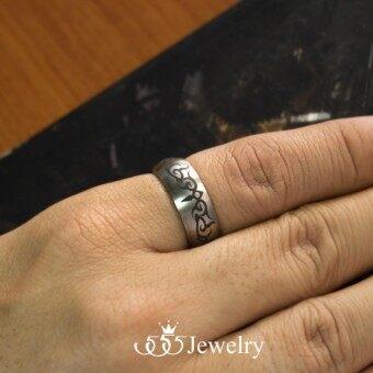 555jewelry แหวนดีไซน์เรียบ สี สตีลเงิน รุ่น MNC-R714-A - แหวนเรียบ แหวนผู้ชาย สแตนเลสสตีล (R48) แหวนคู่รัก แหวนคู่ แหวนผู้ชายเท่ๆ แหวนแฟชั่นชาย แหวนผู้ชาย แหวนของผู้ชาย