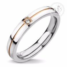 ราคา 555Jewelry แหวนมินิมอลฝังเพชรสวิส รุ่น Mnc R748 C Rb15 แหวนผู้หญิง แหวนคู่ แหวนคู่รัก เครื่องประดับ แหวนผู้ชาย แหวนแฟชั่น
