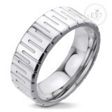 ขาย 555Jewelry แหวนดีไซน์สวยงาม รุ่น Mnr 021T A สี Steel แหวนคู่รัก แหวนคู่ แหวนผู้ชายเท่ๆ แหวนแฟชั่นชาย แหวนผู้ชาย แหวนของผู้ชาย ถูก ใน ไทย