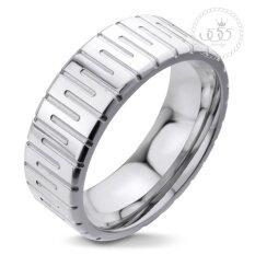 ราคา 555Jewelry แหวนดีไซน์สวยงาม รุ่น Mnr 021T A สี Steel แหวนคู่รัก แหวนคู่ แหวนผู้ชายเท่ๆ แหวนแฟชั่นชาย แหวนผู้ชาย แหวนของผู้ชาย 555Jewelry ใหม่