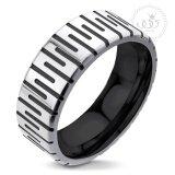 ส่วนลด 555Jewelry แหวนดีไซน์สวยงาม รุ่น Mnr 021T B Black แหวนคู่รัก แหวนคู่ แหวนผู้ชายเท่ๆ แหวนแฟชั่นชาย แหวนผู้ชาย แหวนของผู้ชาย