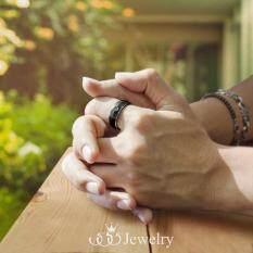 ส่วนลด 555Jewelry แหวน รุ่น Mnr 023T F Black R79 แหวนคู่รัก แหวนคู่ แหวนผู้ชายเท่ๆ แหวนแฟชั่นชาย แหวนผู้ชาย แหวนของผู้ชาย 555Jewelry