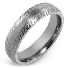 ซื้อ 555Jewelry แหวน รุ่น Mnr 102T A สี Steel แหวนคู่รัก แหวนคู่ แหวนผู้ชายเท่ๆ แหวนแฟชั่นชาย แหวนผู้ชาย แหวนของผู้ชาย ถูก ใน ไทย