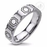 ส่วนลด 555Jewelry แหวน รุ่น Mnr 109T D สี Black แหวนคู่รัก แหวนคู่ แหวนผู้ชายเท่ๆ แหวนแฟชั่นชาย แหวนผู้ชาย แหวนของผู้ชาย