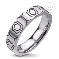 ราคา 555Jewelry แหวน รุ่น Mnr 109T D สี Black แหวนคู่รัก แหวนคู่ แหวนผู้ชายเท่ๆ แหวนแฟชั่นชาย แหวนผู้ชาย แหวนของผู้ชาย 555Jewelry เป็นต้นฉบับ