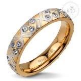 555Jewelry แหวน รุ่น Mnr 111G C สี Pink Gold แหวนผู้หญิง แหวนคู่ แหวนคู่รัก เครื่องประดับ แหวนผู้ชาย แหวนแฟชั่น เป็นต้นฉบับ