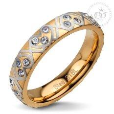 ขาย 555Jewelry แหวน รุ่น Mnr 111G C สี Pink Gold แหวนผู้หญิง แหวนคู่ แหวนคู่รัก เครื่องประดับ แหวนผู้ชาย แหวนแฟชั่น 555Jewelry ถูก