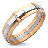 ราคา 555Jewelry แหวน รุ่น Mnr 124T C Arz สี Pink Gold แหวนผู้หญิง แหวนคู่ แหวนคู่รัก เครื่องประดับ แหวนผู้ชาย แหวนแฟชั่น 555Jewelry ออนไลน์