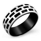 ราคา 555Jewelry แหวน รุ่น Mnr 181T D สี Black แหวนคู่รัก แหวนคู่ แหวนผู้ชายเท่ๆ แหวนแฟชั่นชาย แหวนผู้ชาย แหวนของผู้ชาย ใหม่ล่าสุด
