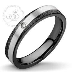 ขาย 555Jewelry แหวน รุ่น Mnr 230T D สี Black แหวนคู่รัก แหวนคู่ แหวนผู้ชายเท่ๆ แหวนแฟชั่นชาย แหวนผู้ชาย แหวนของผู้ชาย ไทย ถูก