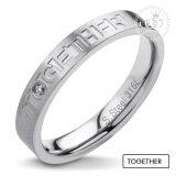ส่วนลด 555Jewelry แหวนดีไซน์สวยงาม รุ่น Mnr 254G A สี Steel แหวนผู้หญิง แหวนคู่ แหวนคู่รัก เครื่องประดับ แหวนผู้ชาย แหวนแฟชั่น ไทย