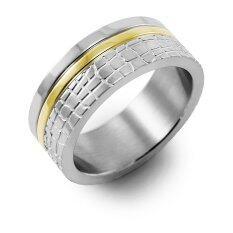 ขาย ซื้อ 555Jewelry แหวน รุ่น Mnr 324T B Steel Yellow Gold แหวนคู่รัก แหวนคู่ แหวนผู้ชายเท่ๆ แหวนแฟชั่นชาย แหวนผู้ชาย แหวนของผู้ชาย ไทย