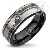 ขาย 555Jewelry แหวนผู้ชาย แหวนเรียบ กัดลาย รุ่น Mnr 338T D สี ดำ R45 แหวนคู่รัก แหวนคู่ แหวนผู้ชายเท่ๆ แหวนแฟชั่นชาย แหวนผู้ชาย แหวนของผู้ชาย ออนไลน์ ใน สมุทรปราการ