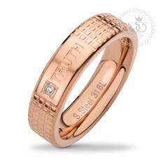 ขาย ซื้อ 555Jewelry แหวน รุ่น Mnr 353T C Pink Gold Rb91แหวนผู้หญิง แหวนคู่ แหวนคู่รัก เครื่องประดับ แหวนผู้ชาย แหวนแฟชั่น ไทย