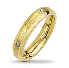 ขาย 555Jewelry แหวน รุ่น Mnr 354T B Yellow Gold แหวนผู้หญิง แหวนคู่ แหวนคู่รัก เครื่องประดับ แหวนทองผู้หญิง แหวนแฟชั่น 555Jewelry ออนไลน์