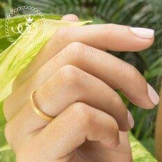 ราคา 555Jewelry แหวน ดีเทล Sand Dust รุ่น Mnc R540 B สี Yellow Gold แหวนผู้หญิง แหวนคู่ แหวนคู่รัก เครื่องประดับ แหวนทองผู้หญิง แหวนแฟชั่น 555Jewelry สมุทรปราการ