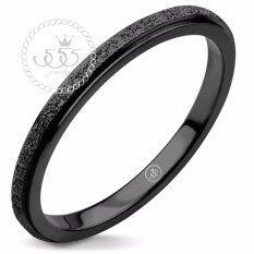 ราคา 555Jewelry แหวนสแตนเลสสตีลSand Dust Tiny Ring รุ่น Mnc R691 D แหวนคู่รัก แหวนคู่ แหวนผู้ชายเท่ๆ แหวนแฟชั่นชาย แหวนผู้ชาย แหวนของผู้ชาย ถูก