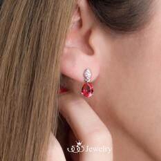 ขาย 555Jewelry ต่างหูเงินแท้ ดีไซน์ต่างหูเพชรสวิส เครื่องประดับ ต่างหูแฟชั่น Sterling Silver 925 Fashion Jewelry Women Earrings ต่างหูแป้น ดีไซน์แบบห้อยเพชร Cz ทรงหยดน้ำ แบบคลาสสิคสวยเป็นประกาย ฝังเพชรสวิส Cz รุ่น Md Sler061 555Jewelry เป็นต้นฉบับ