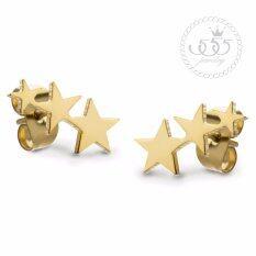 ขาย 555Jewelry ต่างหูสตั๊ดแฟชั่น รูปดาว รุ่น Mnc Er731 B Er24 ต่างหู ต่างหูแฟชั่น ต่างหูหนีบ ต่างหูทอง ต่างหูเงิน ต่างหูผู้หญิง