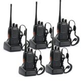 ขาย 5Pcs Baofeng Bf 888S Walkie Talkies Two Way Radio Free Headphones Intl Baofeng