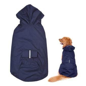 5XL สะท้อนแสงสัตว์เลี้ยงเสื้อกันฝนสำหรับสุนัขเสื้อกันฝน Rainwear กับ Leash สำหรับสุนัขขนาดกลางและขนาดใหญ่ - INTL-