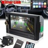ส่วนลด 6 6 2Din Car Mp5 Mp3 Player Fm Bluetooth Touch Screen Stereo Radio Hd Camera Intl Unbranded Generic