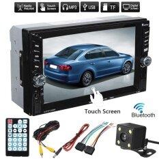 ขาย 6 6 Touch Screen 2Din Car Fm Radio Sd Tf Mp5 Stereo Player Bluetooth W Camera Intl เป็นต้นฉบับ