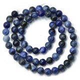 ขาย 6Mm Natural Sodalite Jewelry Making Round Loose Bead Strand 15 ออนไลน์ จีน