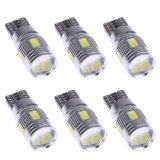 โปรโมชั่น 6Pcs Car Led Lights Canbus T10 5630 6Smd Decoding W5W Show Wide Lights Intl