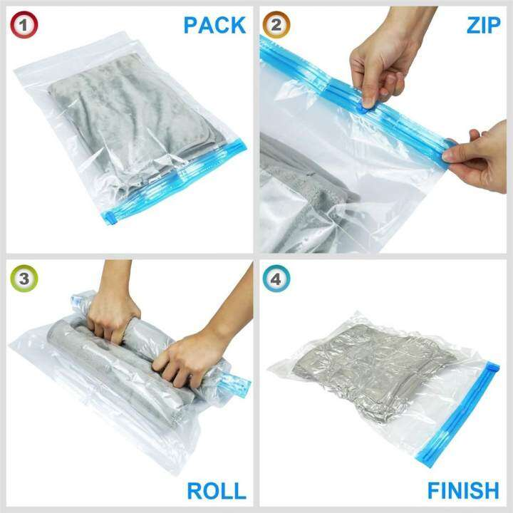 Roll Up Vacuum Bags For Travel