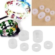 ขาย 6Pcs Silicone Ring Mold Jewelry Making Mould Self Made Handicrafts Tool Hand Made 16 6Mm Intl ราคาถูกที่สุด
