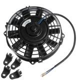 ราคา 7 12V 80W Slim Reversible Electric Radiator Cooling Fan Push Pull Easy Install ใหม่ล่าสุด