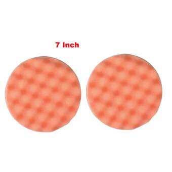 ฟองน้ำรังไข่ ขัดละเอียด ขนาด 7 นิ้ว แบบแปะตีนตุ๊กแก - 2 อัน   -