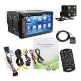 """REAR CAMERA 4-Core Android WIFI 7/"""" 2 DIN Car Radio Stereo Player GPS Bluetooth"""