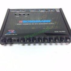 ทบทวน ปรีแอมป์รถยนต์7แบนด์ With Subwoofer Output Model Eqx 75Pro Unbranded Generic