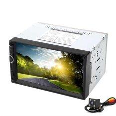 ราคา 7002 7 Inch Double Din 12V Car Multimedia Mp5 Player With Camera Am Fm Bluetooth Function Intl ราคาถูกที่สุด