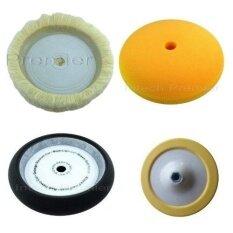 ราคา ชุดฟองน้ำขัดสี 8 นิ้ว มี ขนแกะหน้าเดียว ฟองน้ำขัดสีส้ม สีดำหุ้มขอบ พร้อมแป้นจับ 7 Itp เป็นต้นฉบับ