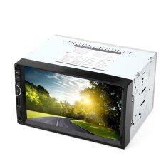 ขาย 8001 7 Inch Double Din 12V Car Multimedia Mp5 Player Support Gps Bluetooth Radio With Usb Aux In Sd Card Slot Southeast Asian Map Black Intl เป็นต้นฉบับ