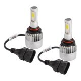 ซื้อ 9006 200W 30000Lm Cree Led Headlight Car Driving Lamp Beam Bulbs 6500K Intl Unbranded Generic
