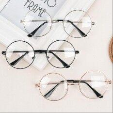 แว่นตากรองแสง แว่นกรองแสง ทรงกลม รุ่น 901 Brown (กรองแสงคอม กรองแสงมือถือ ถนอมสายตา) By Lady Fashion.