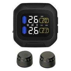 ซื้อ 90Smart Wireless Motorcycle Tpms Tire Pressure Monitoring System Intl ถูก ฮ่องกง