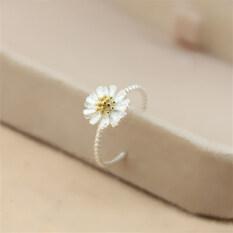 ราคา 925 ต่างหูเงินสเตอร์ลิงดอกเดซี่เล็กๆน้อยๆแหวน Other ออนไลน์