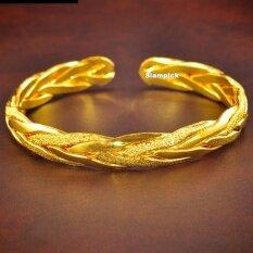 ซื้อ โปรโมชั่น กำไลข้อมือลายเปีย ลายเกลียว ชุบทองคำแท้ 96 5 ทองไมครอน ทองชุบ เศษทอง ทองปลอม หุ้มทอง ทองเค โคลนนิ่ง หนัก 1 สลึง 2 สลึง 1 บาท 2 บาท แฟชั่น ลดราคา ราคาถูก สองกษัตริย์ สามกษัตริย์ 2 สี สองสี ออนไลน์ กรุงเทพมหานคร
