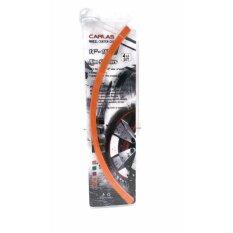 ราคา 9Front Carlasสติ๊กเกอร์ติดขอบล้อ สีสันโดดเด่น สำหรับล้อ 14 16นิ้ว สีส้ม 9Front