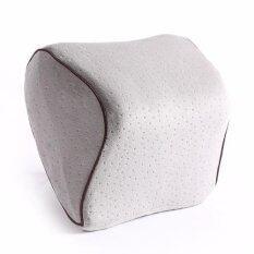 ราคา A Bloom หมอนรองคอในรถ เมมโมรี่โฟม Memory Foam Car Neck Pillow Grey A Bloom ไทย