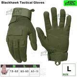 โปรโมชั่น Abc Blackhawk ถุงมือมอเตอร์ไซค์ Tactical ถุงมือเต็มนิ้ว ถุงมือหนัง เรโทร ถุงมือทหาร ถุงมือยิงปืน กันกระแทก ระบายอากาศ สีดำ สีเขียวทหาร M L Xl กรุงเทพมหานคร